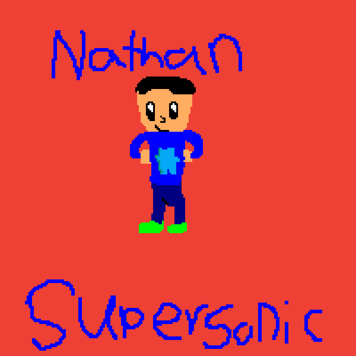 Nathan SuperSonic by nathandarksonic