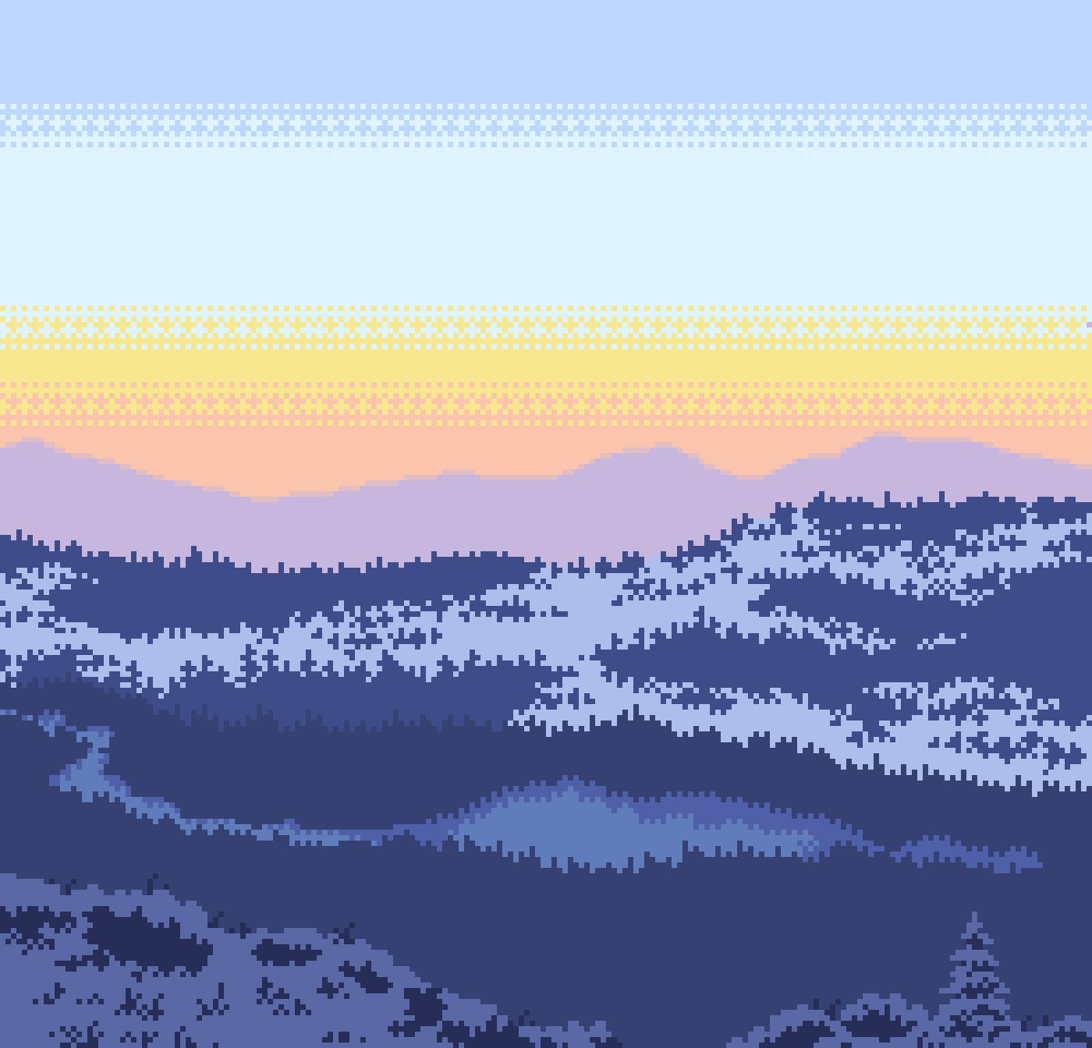 main-image-Winter Forest  by 8-bit-adventure