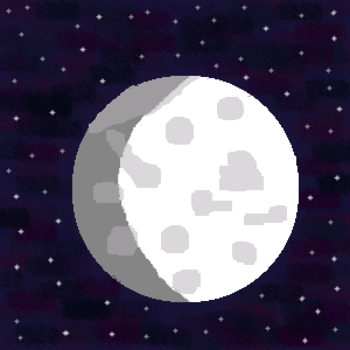 Moon by Minda219