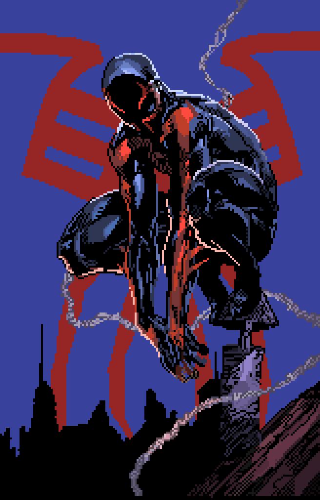 Spider-man 2099 by Impulse