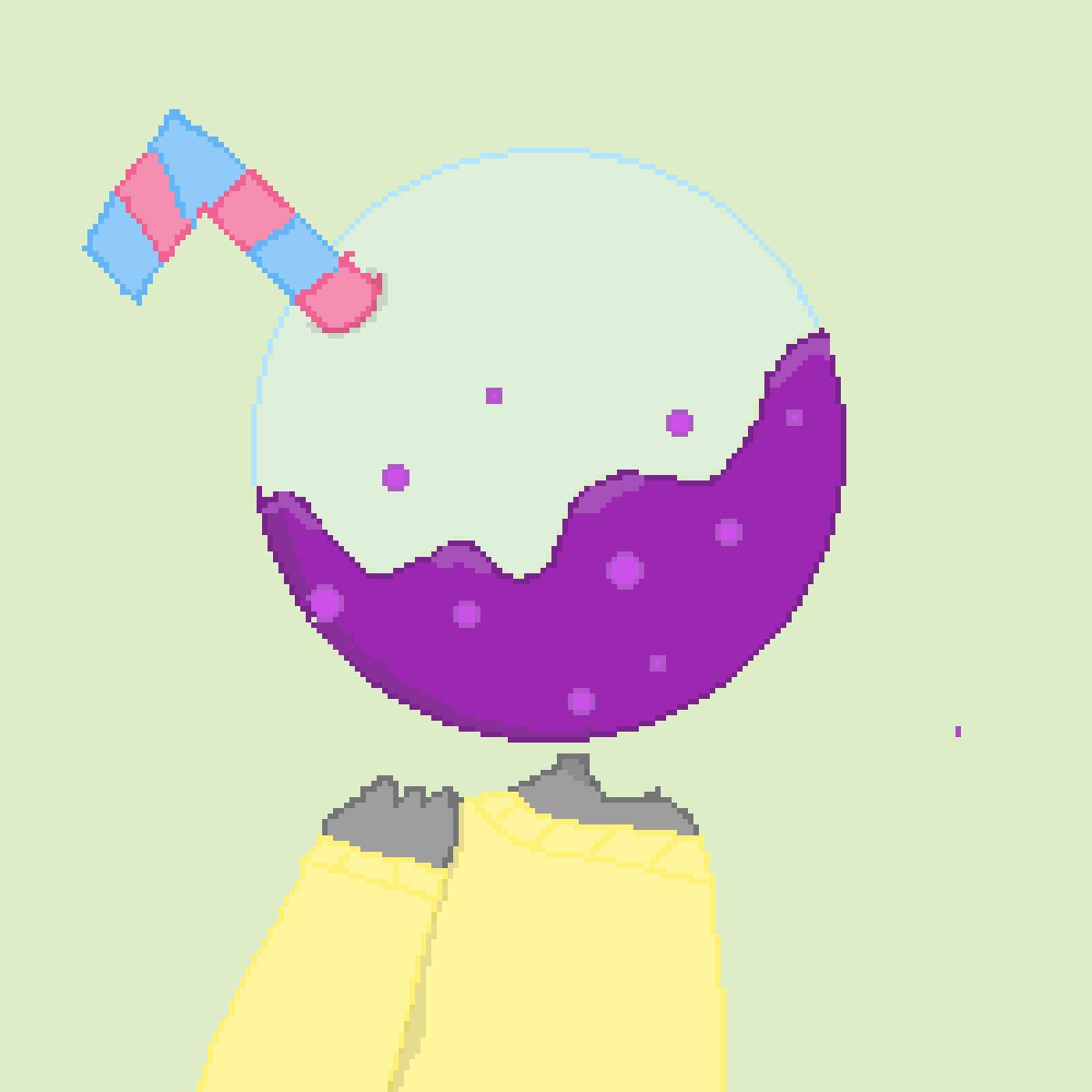 Oc bubble head thing by xXBlackRoseXx