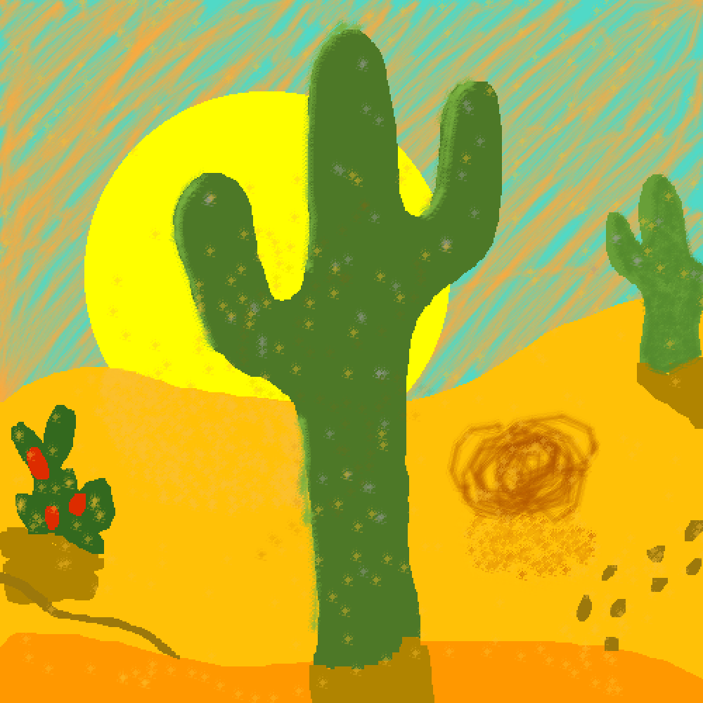 Desert Solitude by LionArtist