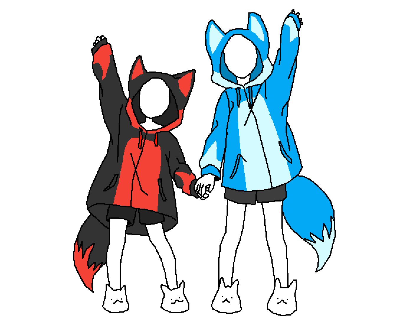 main-image-ALEX AND FLARE HOODIES  by AlexAPhox