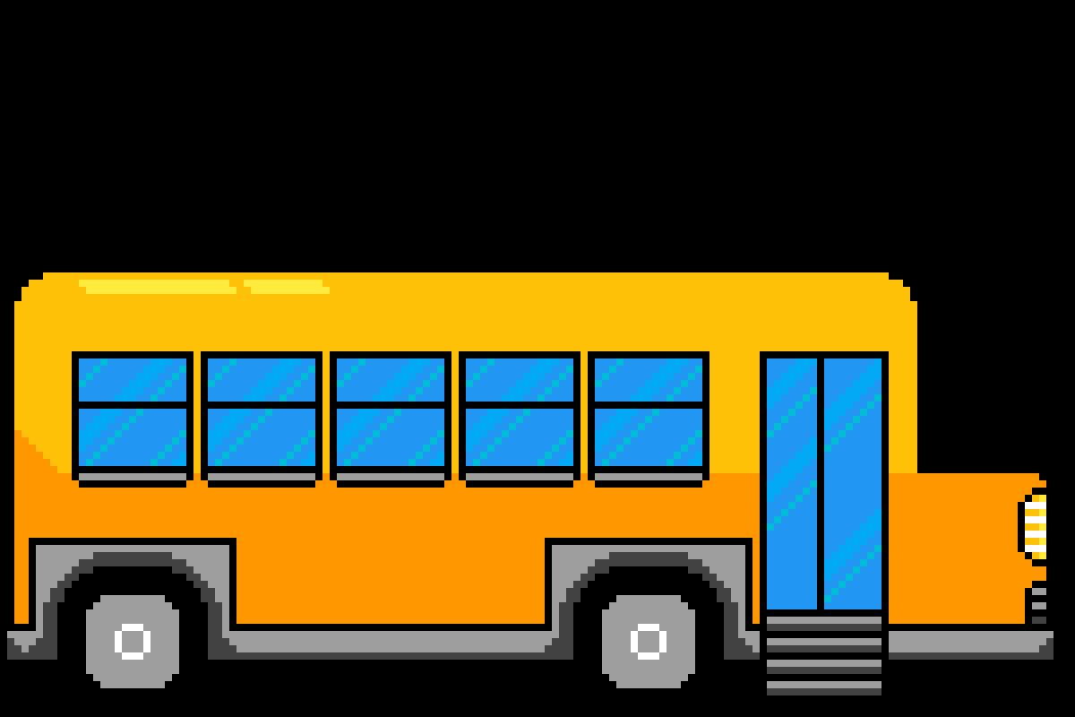 school bus by DanielJoeMcnay