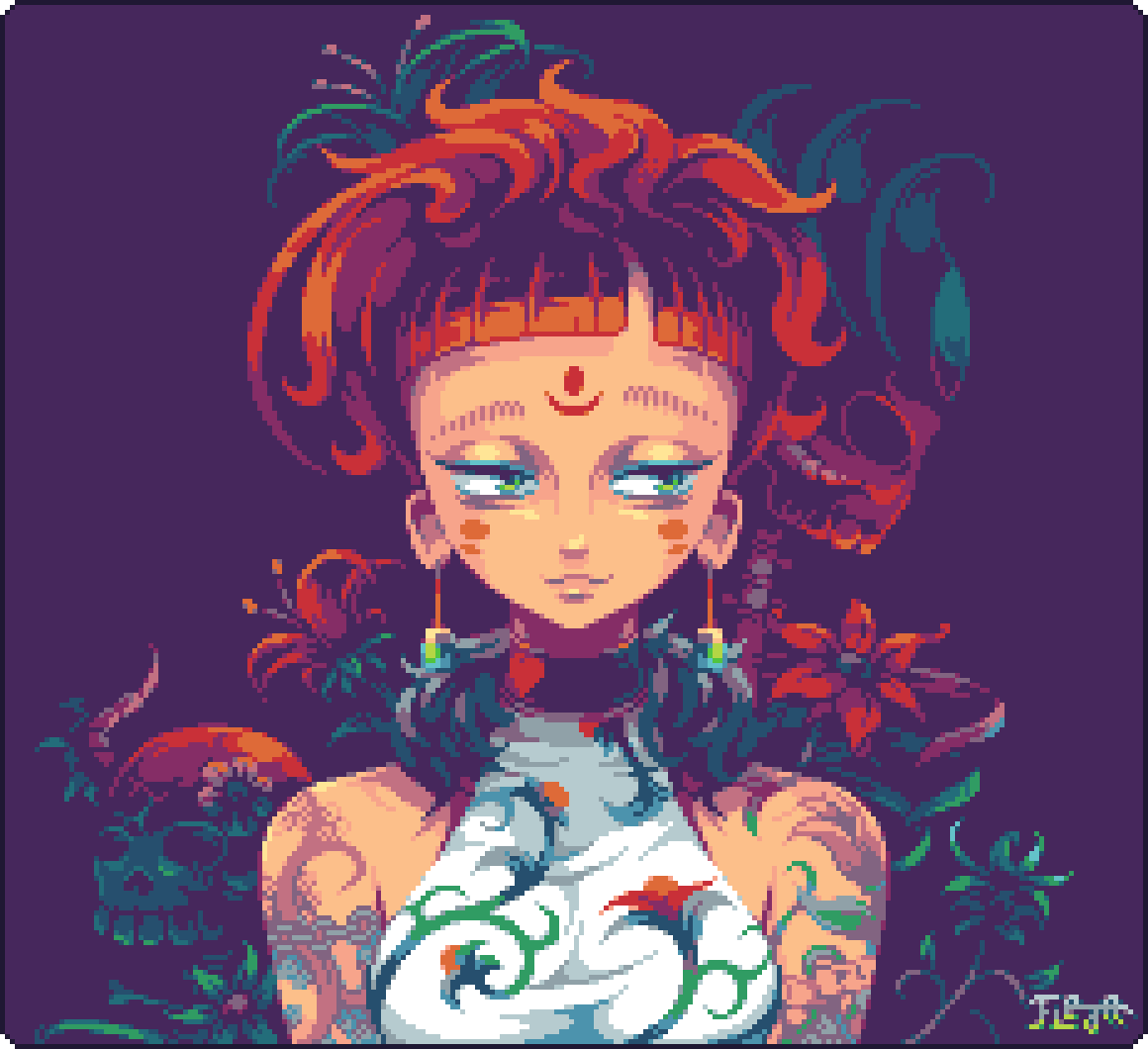 Dina Valentine by Fleja2