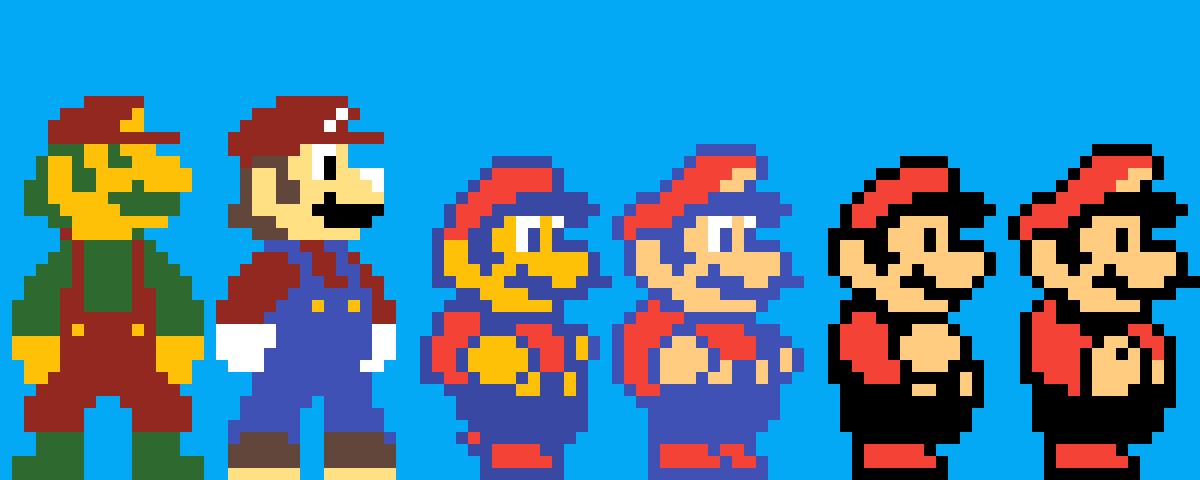 Super Mario Trilogy Sprite Remake
