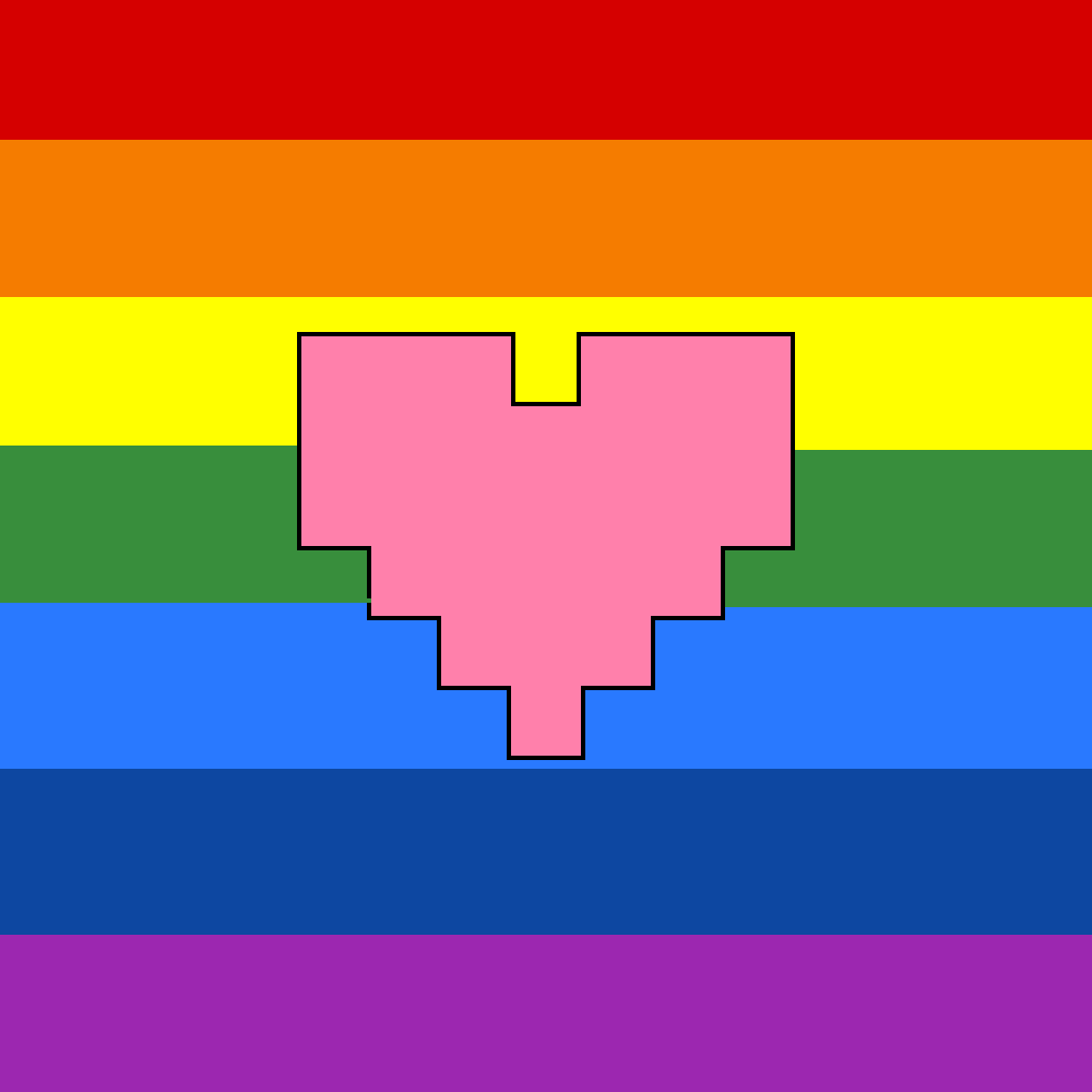 Pixilart - i can't make something without it being gay :) by
