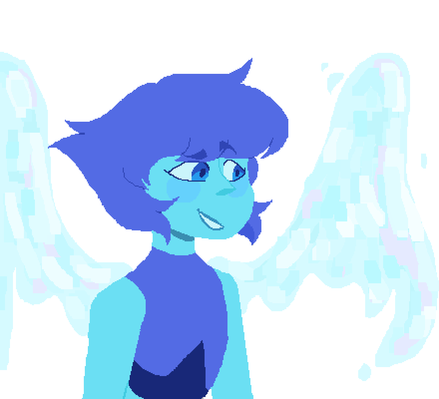 Lapis Lazuli WIP by GalacticMistake