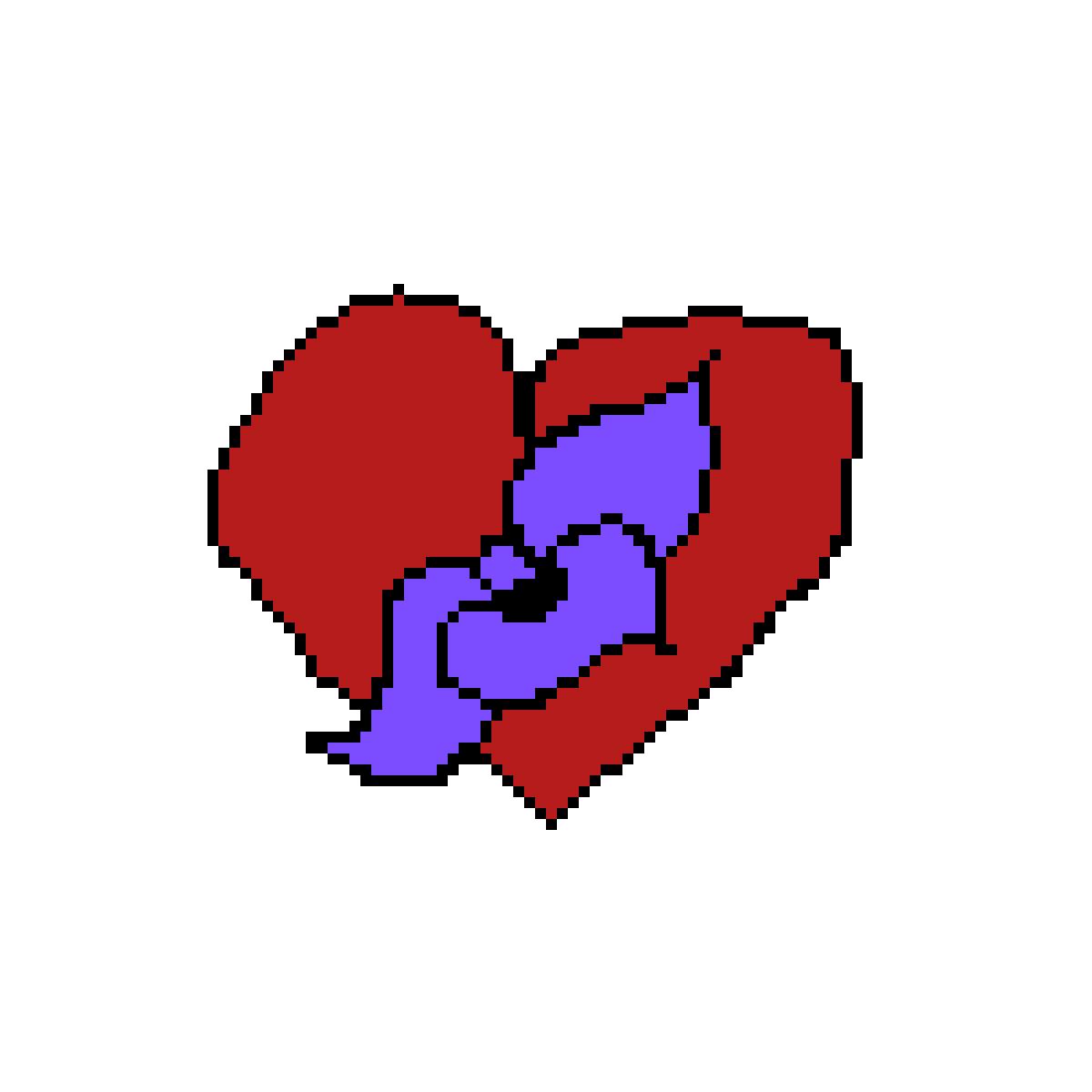 Heart+Flower by EricaJacqueline