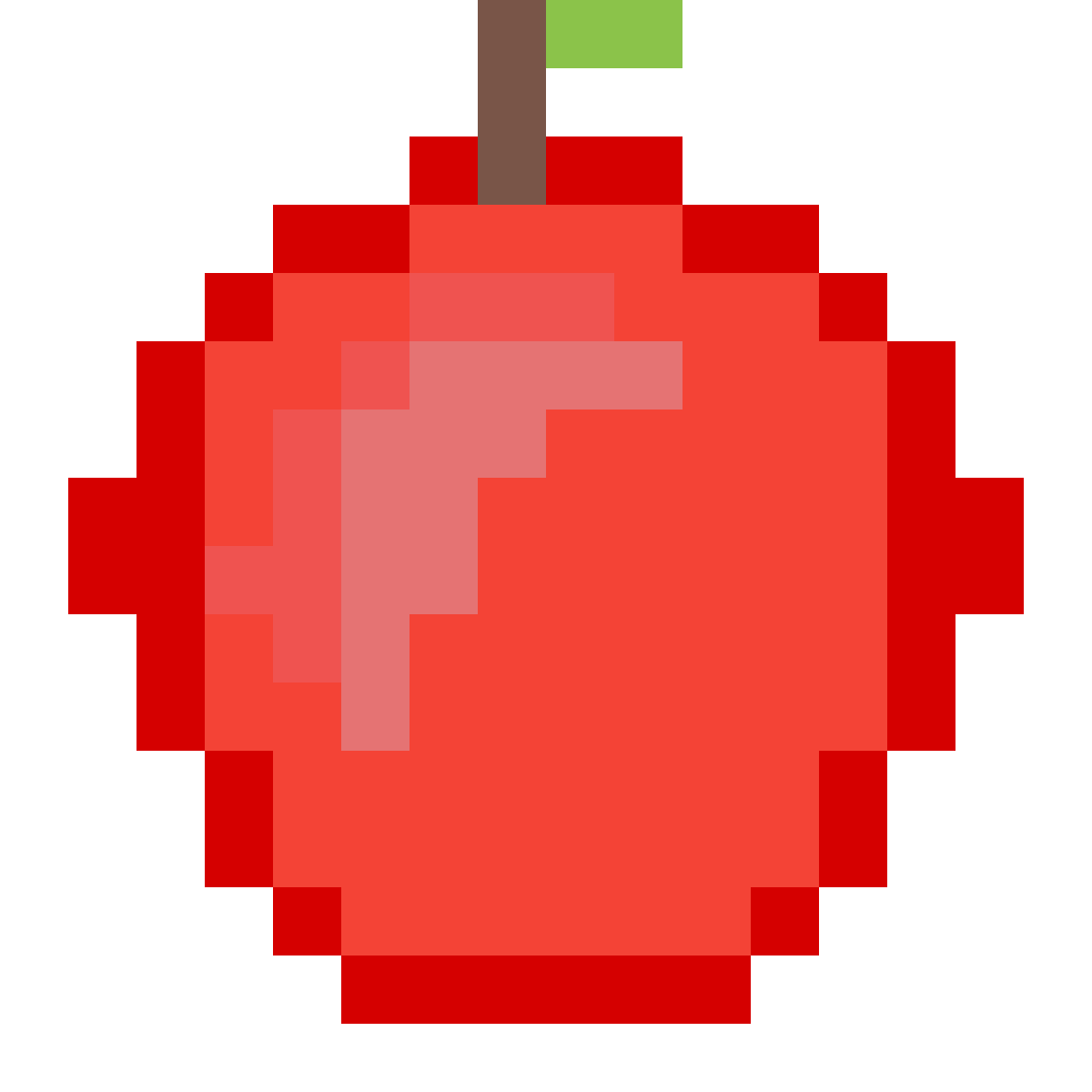 Minecraft apple by cozydrawer