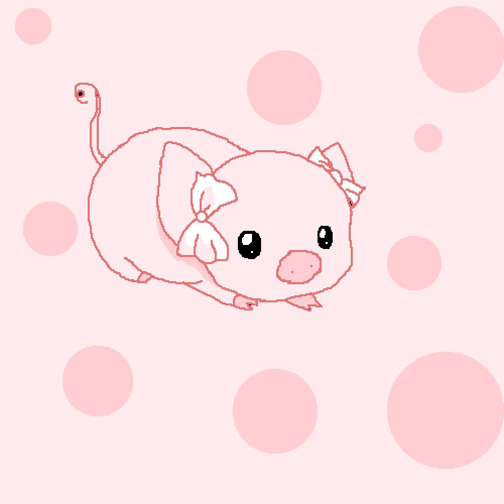 Pig by lorettica