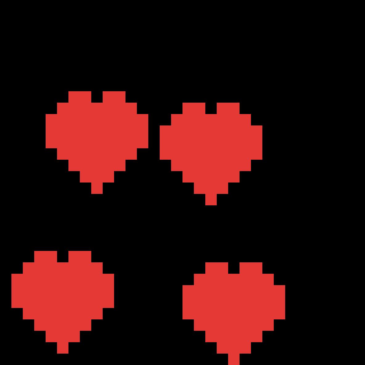 hearts by jullaindeegan