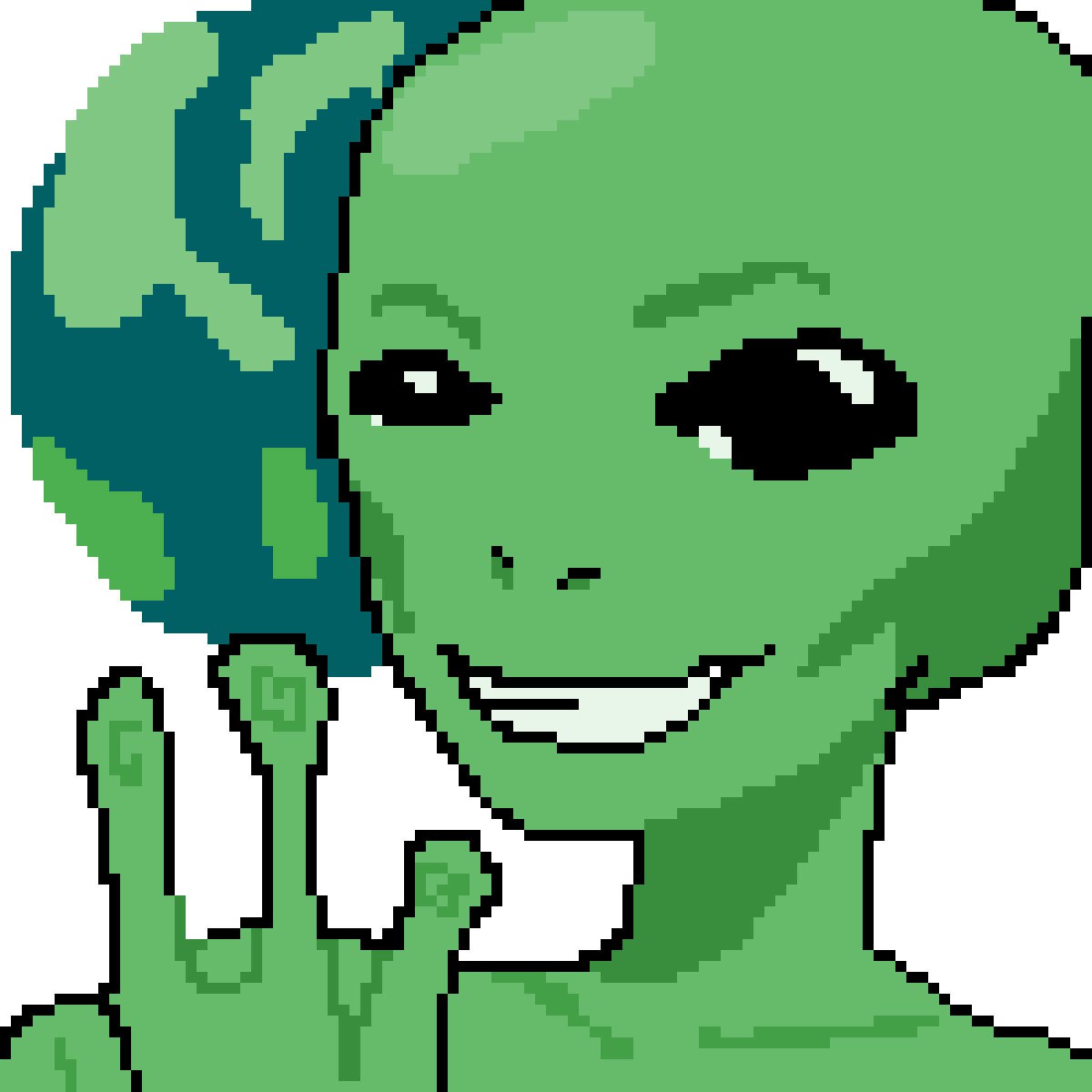 Alien by DrawinStufOwO