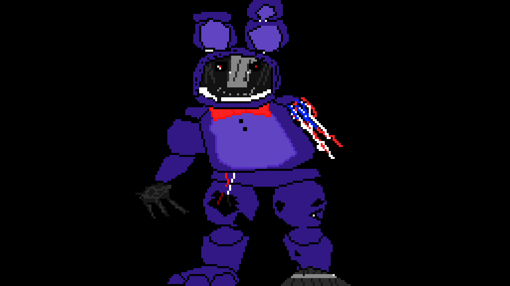 Pixilart - Withered Bonnie (Fnaf 2) by GamingI
