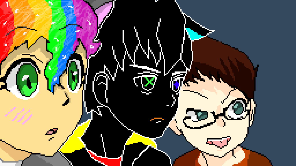 388c9d4c0608 Pixilart - anime collab by IDKlolol
