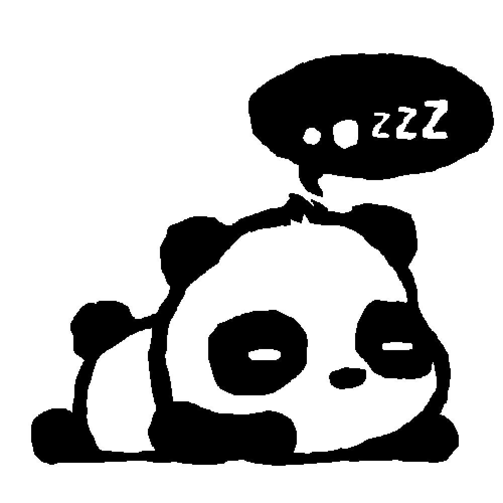 Pixilart Kawaii Panda By Unknowndrawer