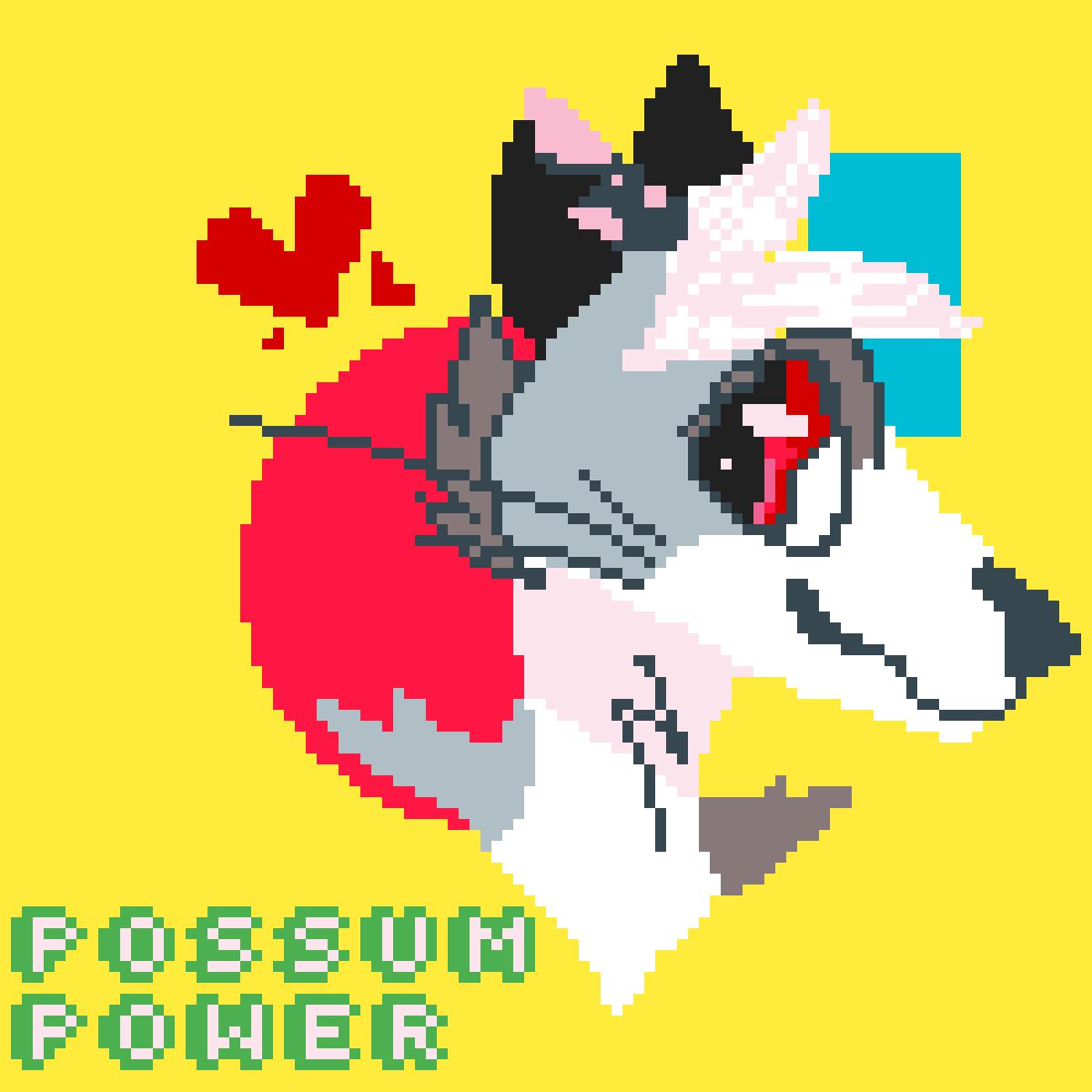 Possum Power! by TwigTheDolf