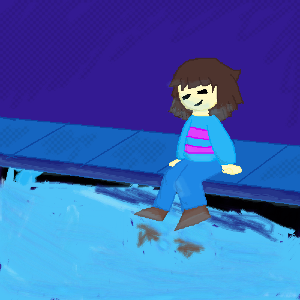 Waterfall (read desc.) by Frisk17