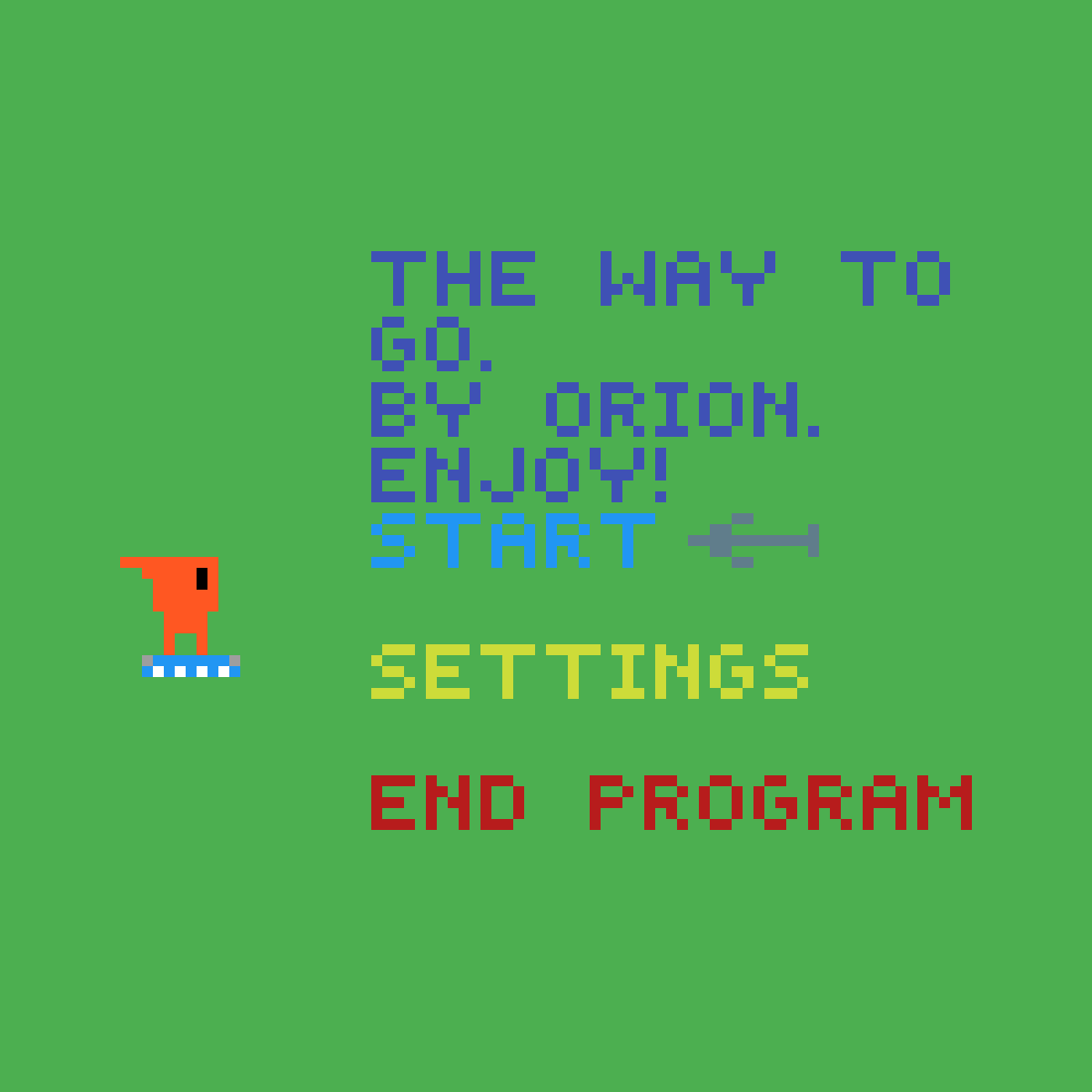 A title screen for a videogame i hope to make :P by om05196