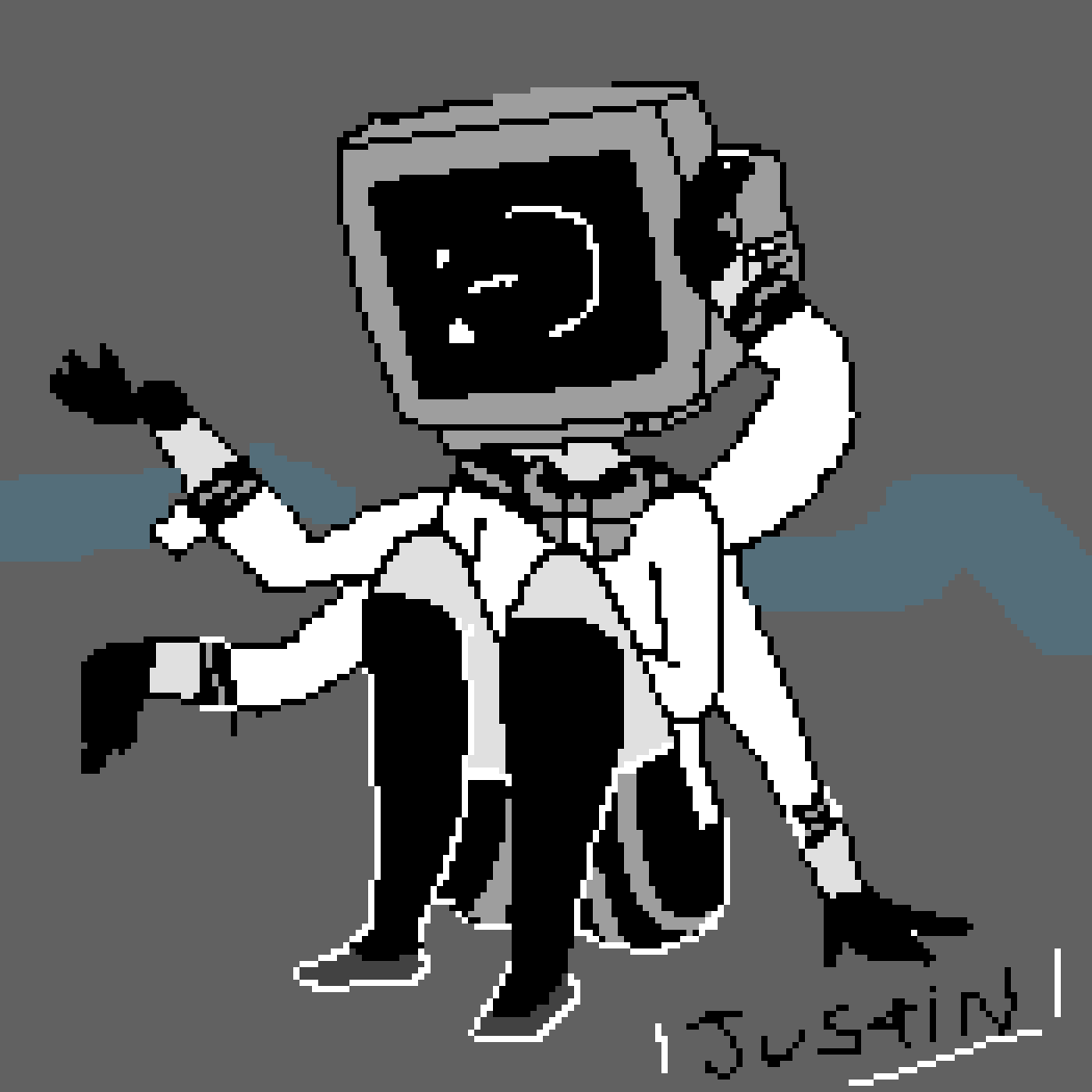 Pixilart - Echo tv head by Anonymous