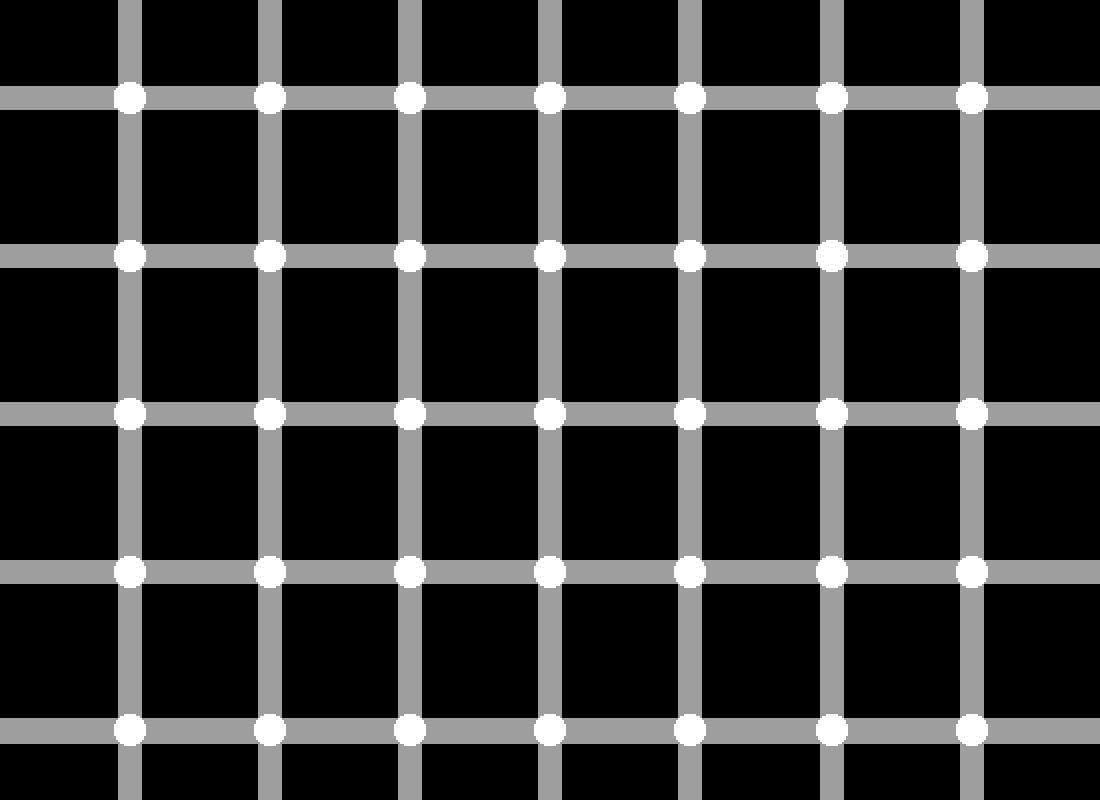 Can you see the black dots? (illusion) by owenmyoven