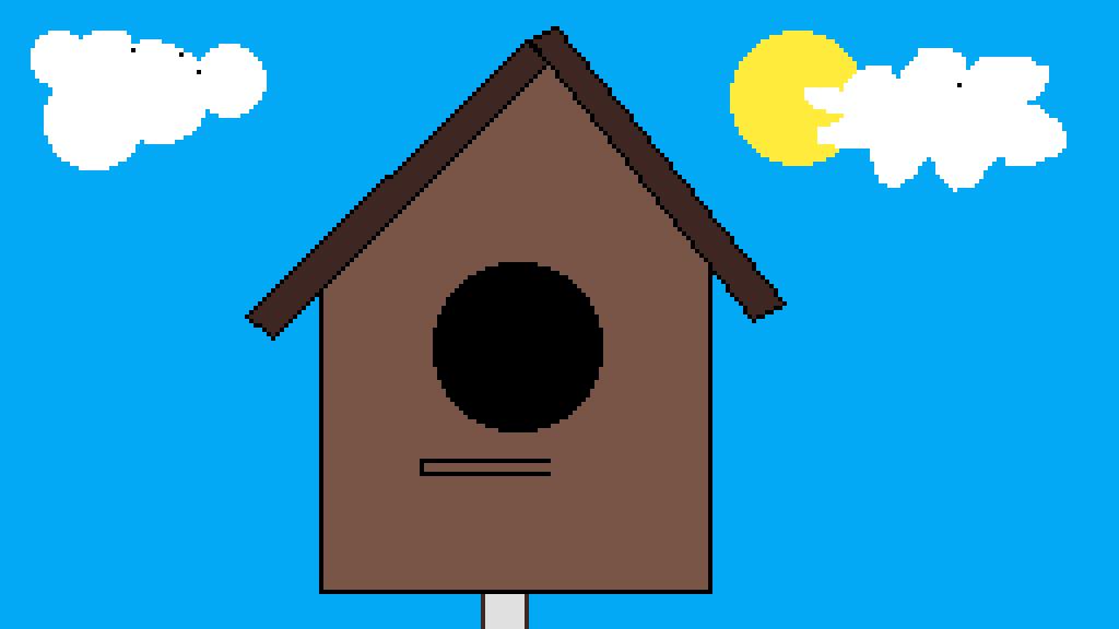 bird house by Mr-Nubbles