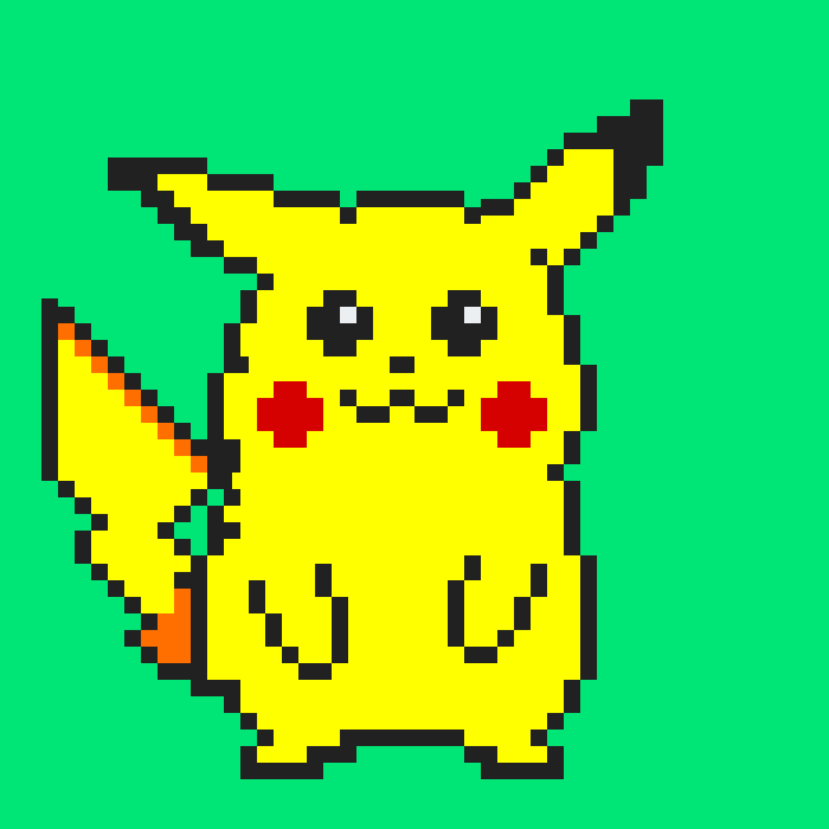 #Pikachu by Person386