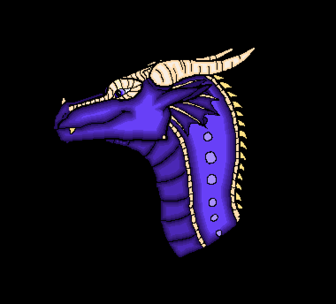 Saphira the dragon by PlatinumNgold