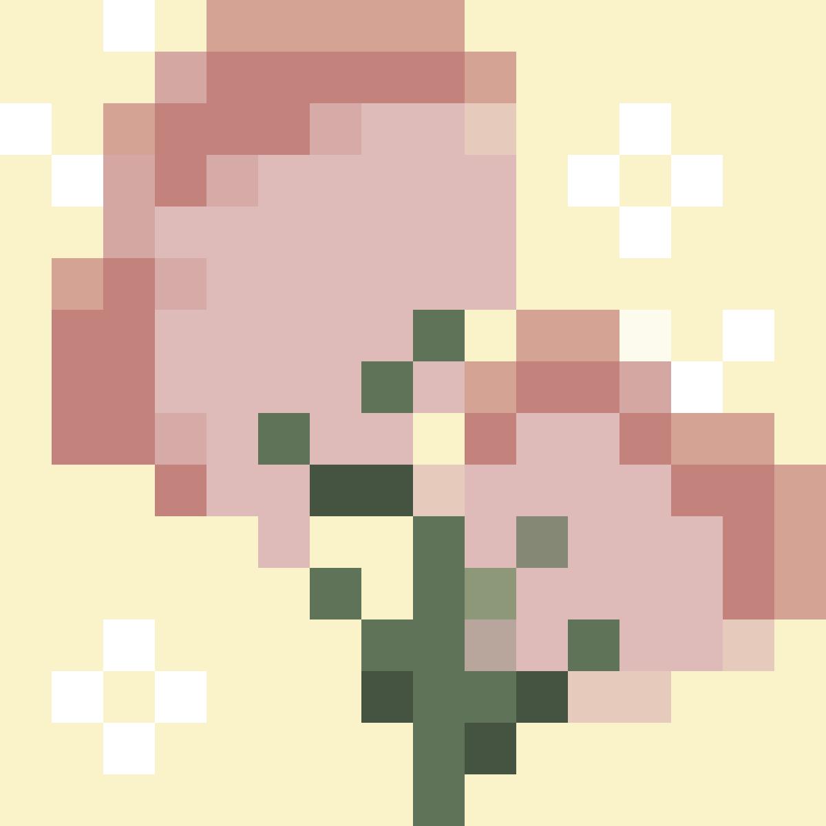 16x16 Flowers by ArtbyChaiitea