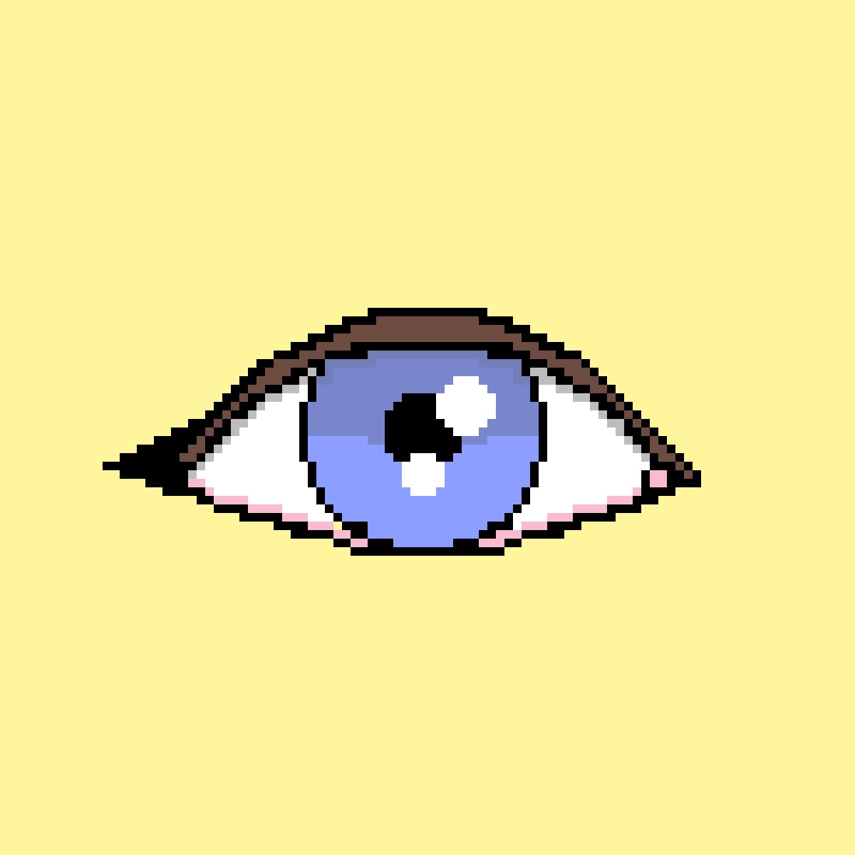 Realistic eye by EmiThiyPotato