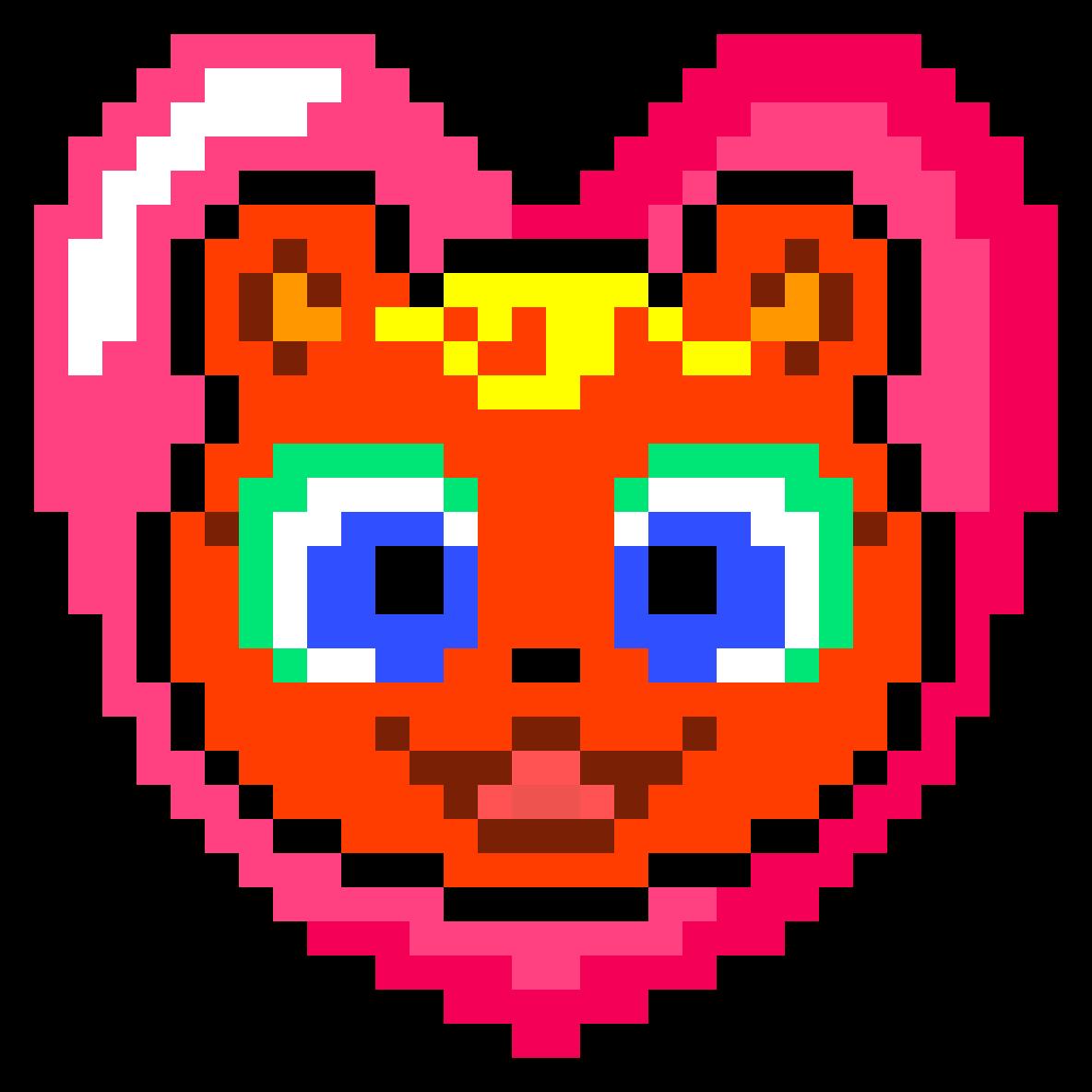 Pixilart Acnl Pixel Caroline By Anonymous