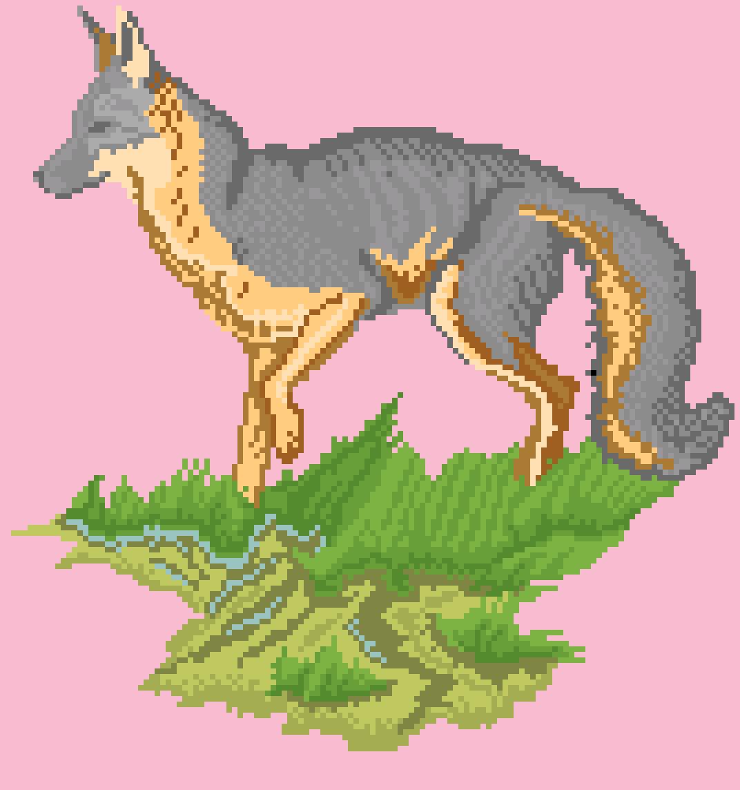 Gray Fox (50 Follower Special)