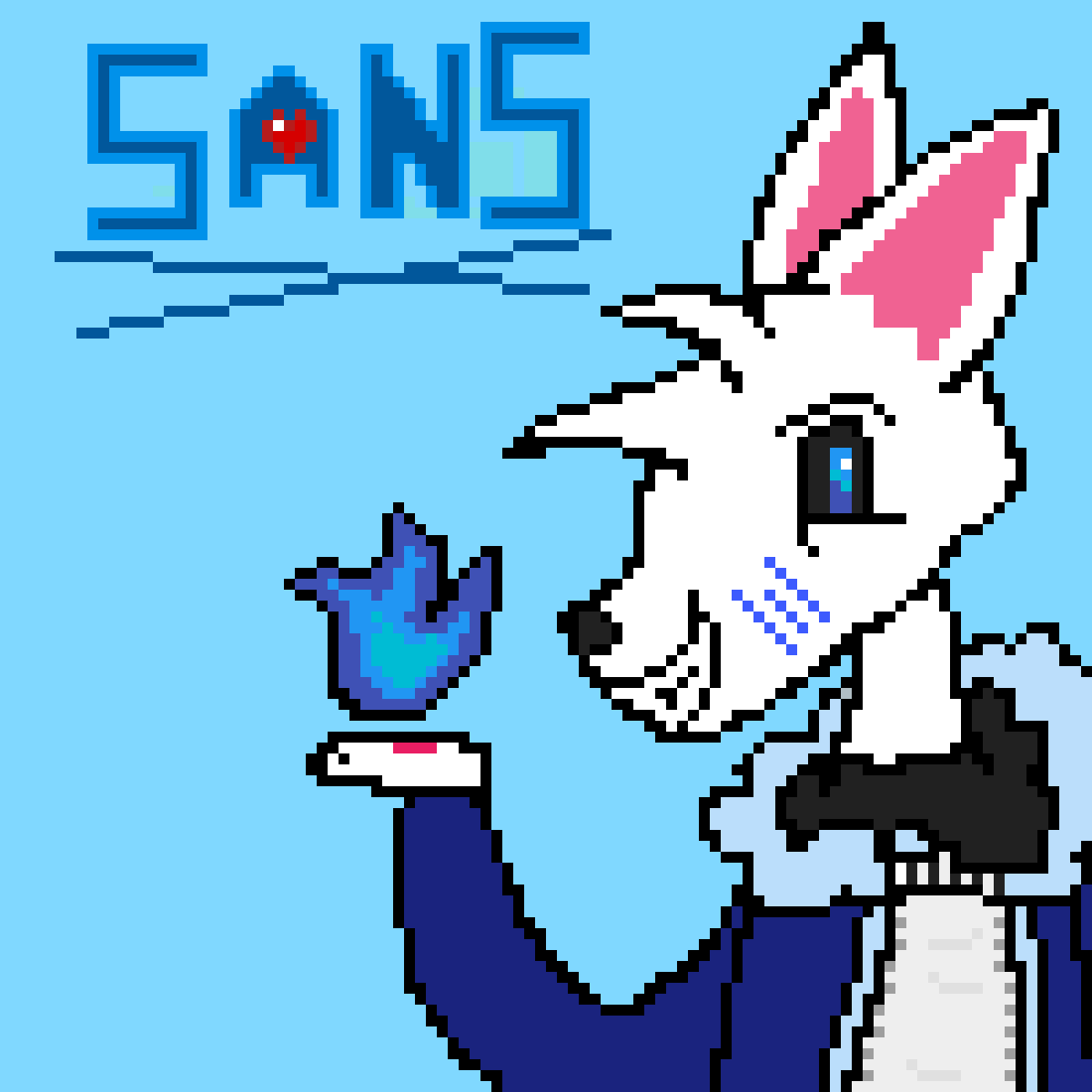 Sans The Skeleton As A Wolf