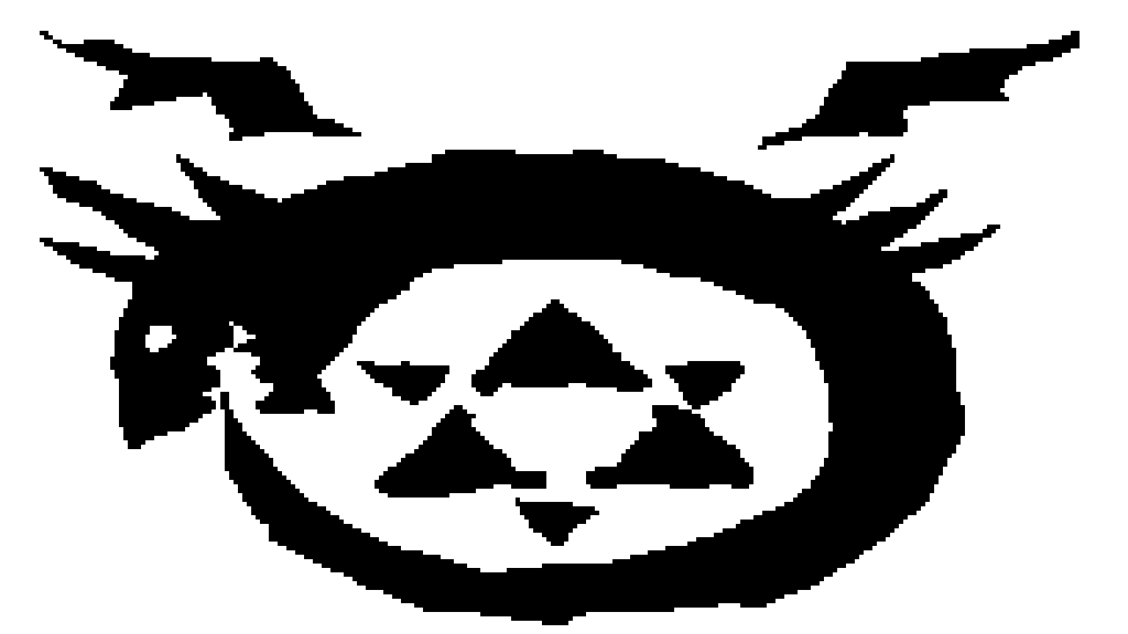 Pixilart Fma Homunculus Symbol By Taterkat