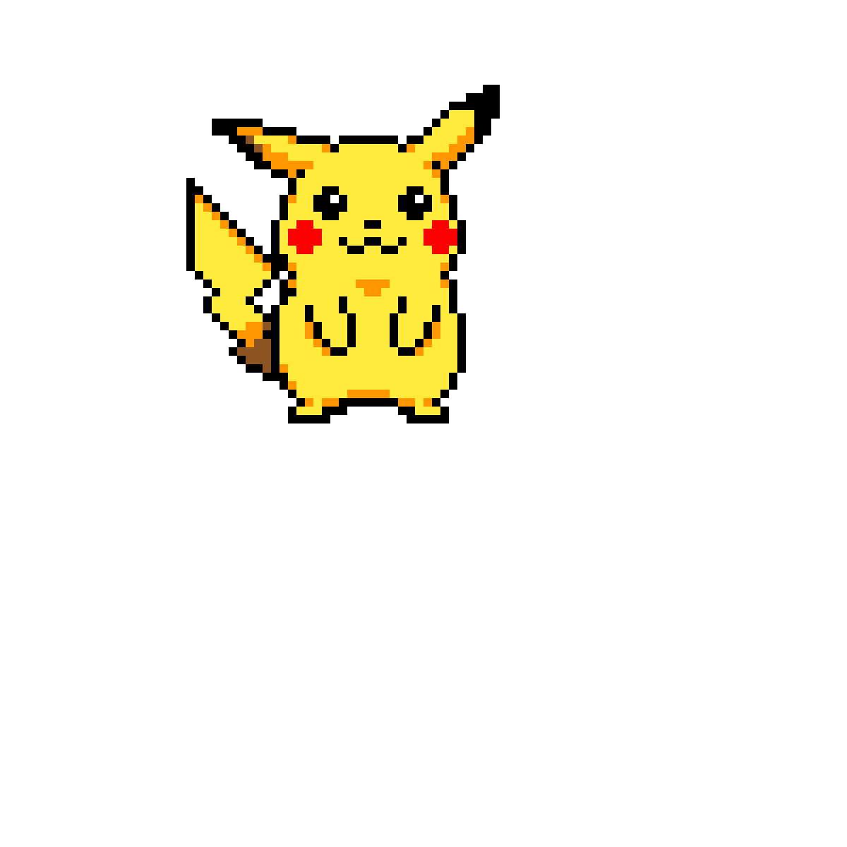 Pissed off pikachu