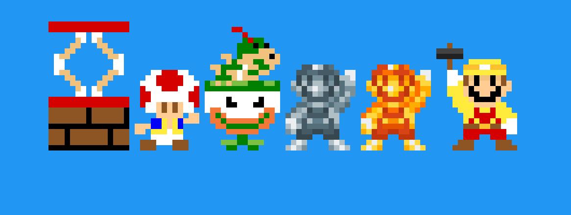 Pixilart - Mario Maker costume line 2 by RetroMarioGamer