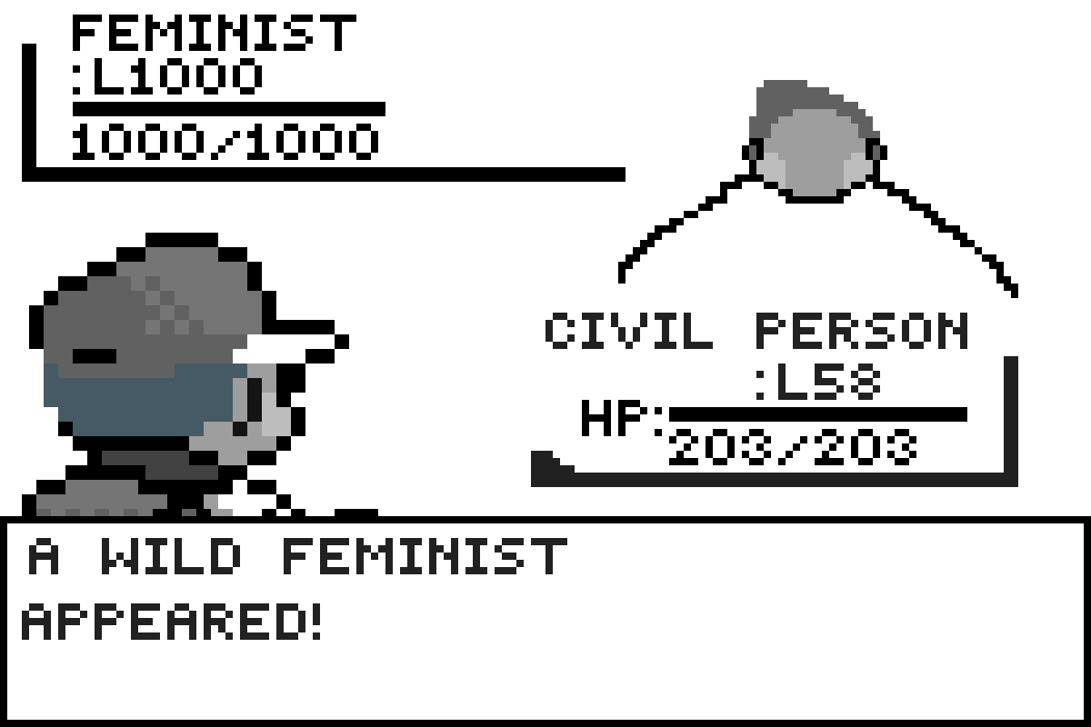 A Wild Fiminist by Capi