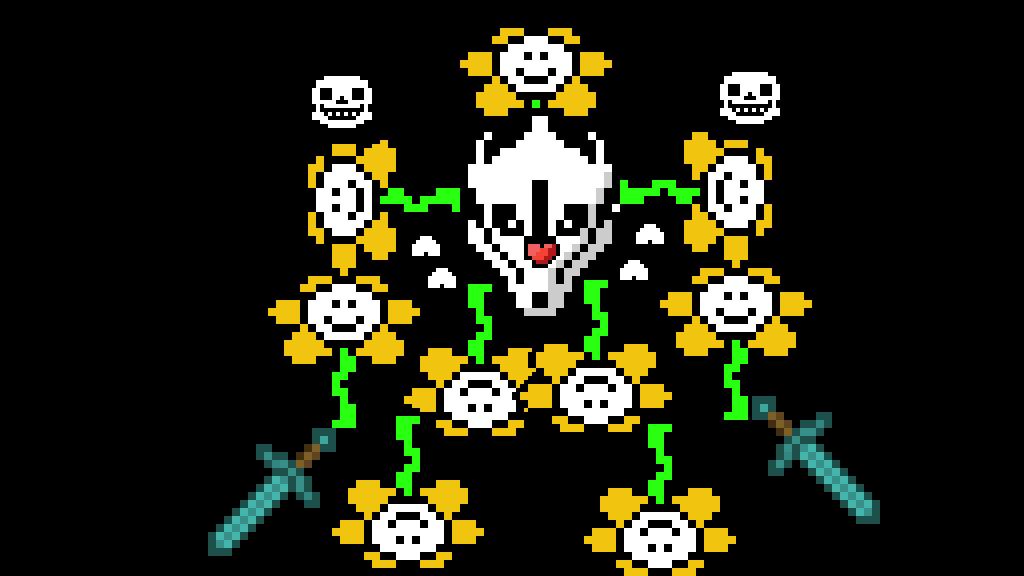 Creation Stamp Flowey by The-new-Joestar