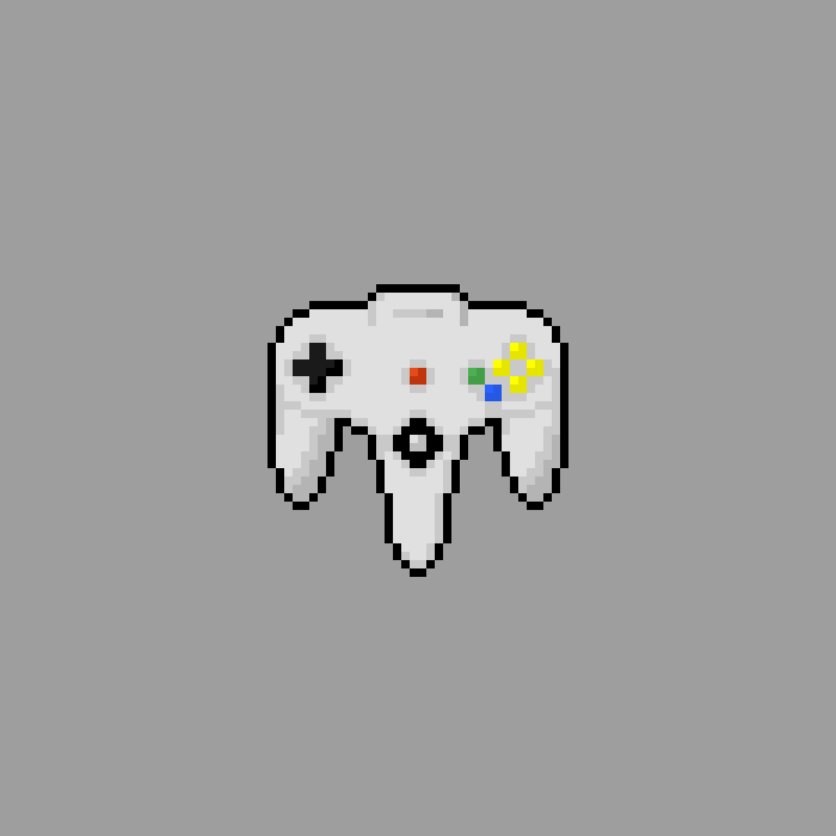 Nintendo 64 controller by TheDestinedOne