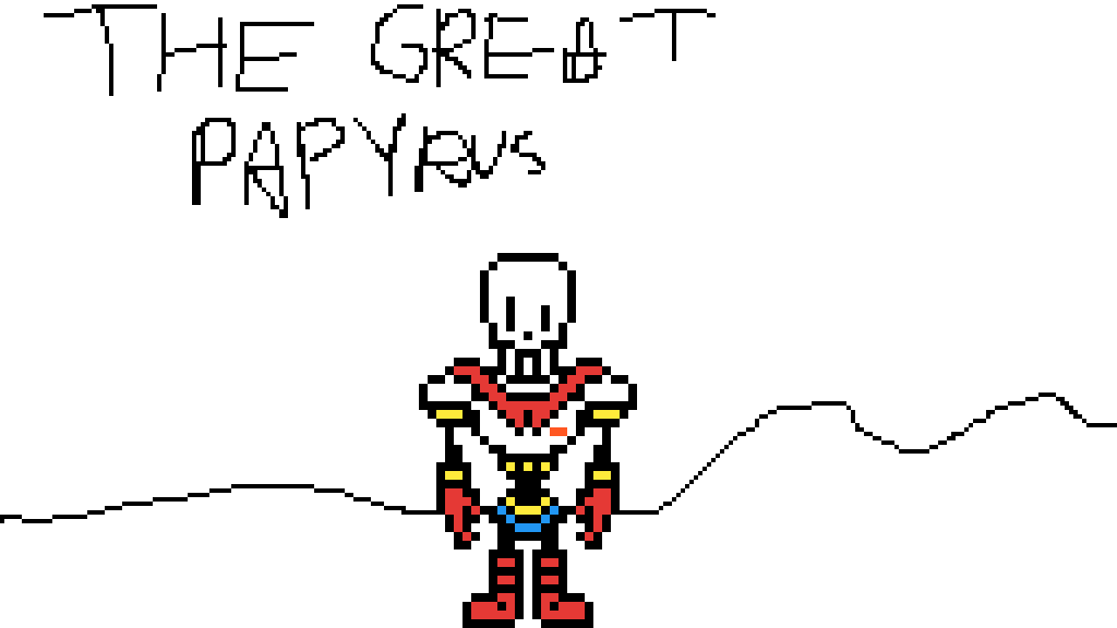 THE GREAT PAPYRUS by TotalDramaArtis