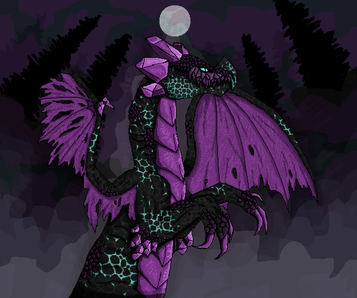 main-image-Amethyst Dragon  by JustAFlounder