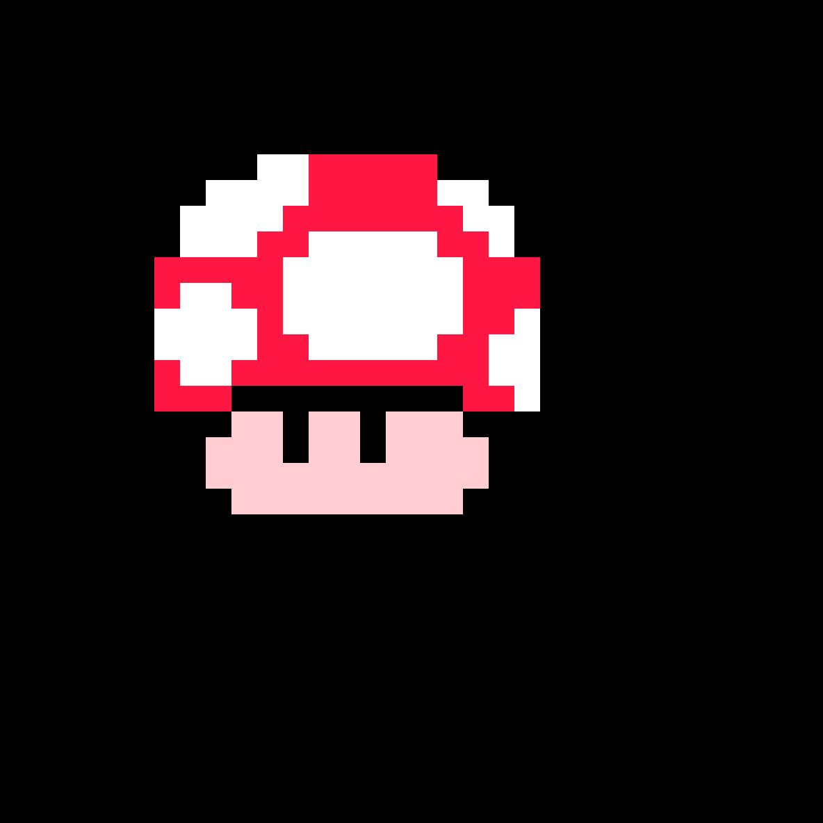 Pixilart Champignon Mario By Loooool