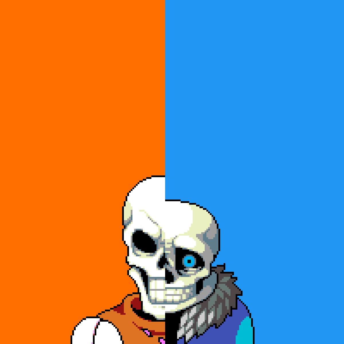 Sans vs Papyrus by Daddy-Chan