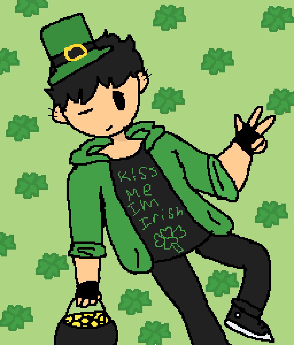 Happy st. Patrick day guys by Captainlevikid