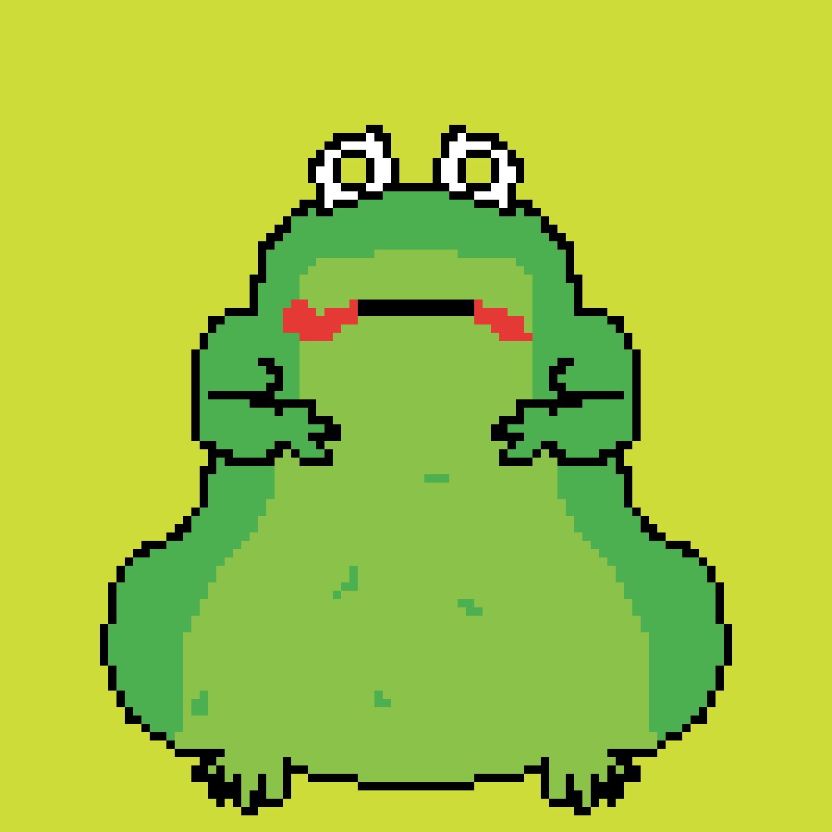 Fat frog by piggy121