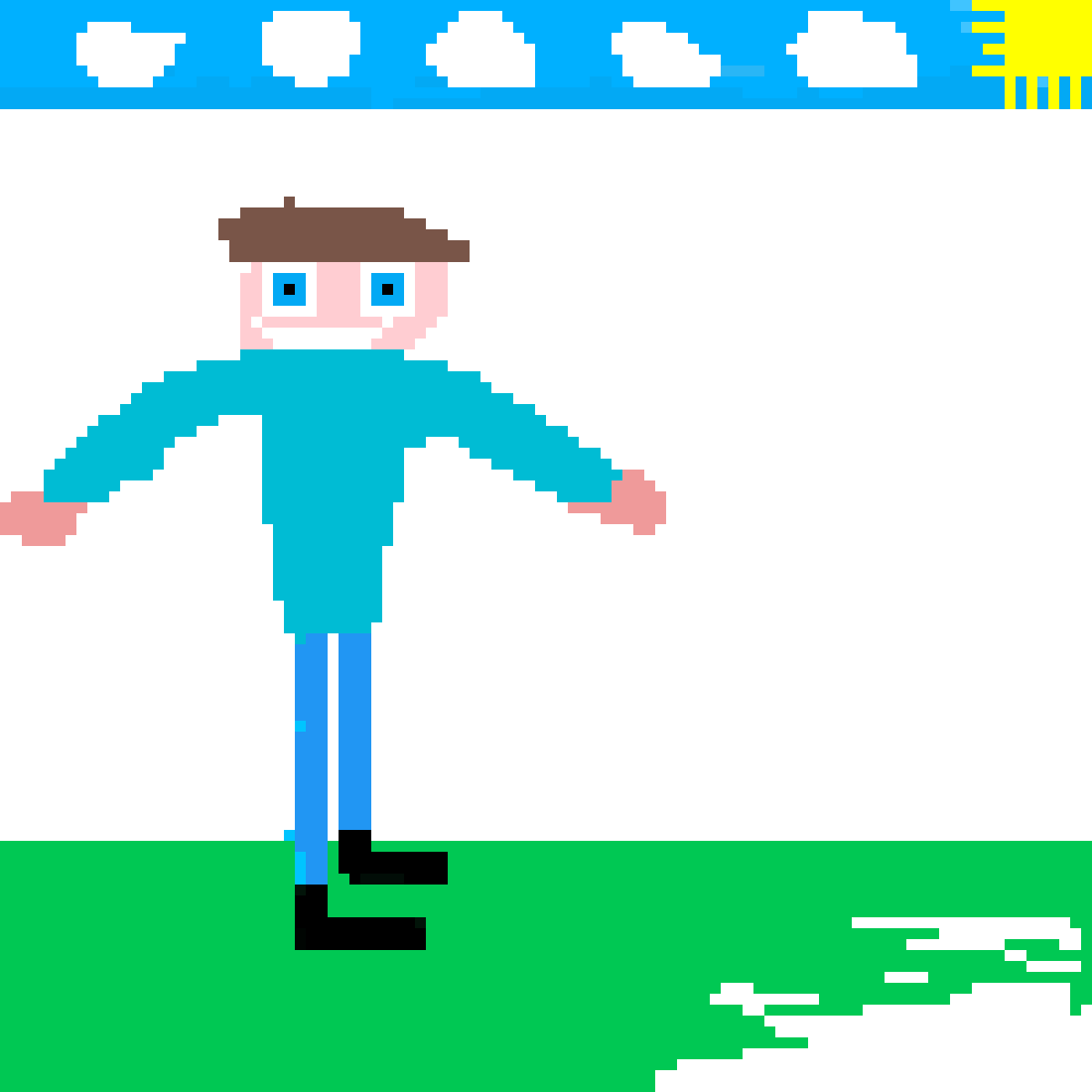 Pixilart Minecraft Person By Anonymous