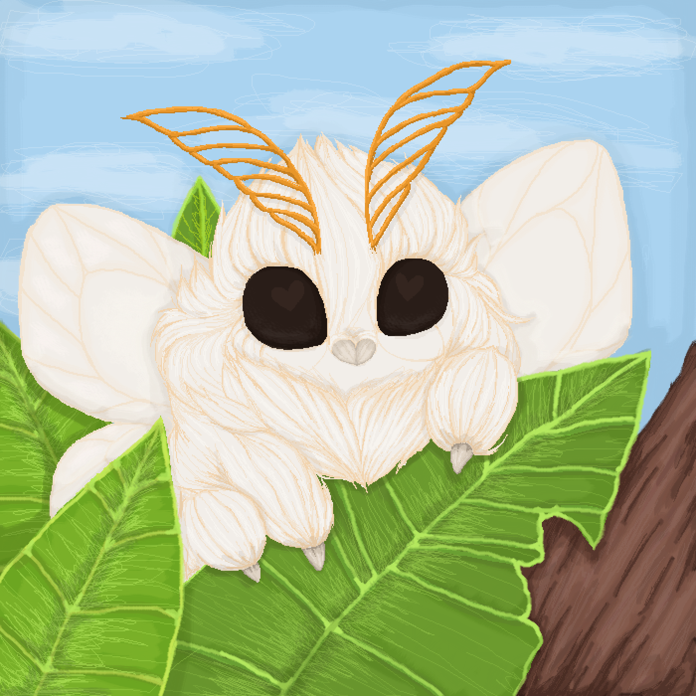 main-image-Floofy Moth  by UndeadAnimation