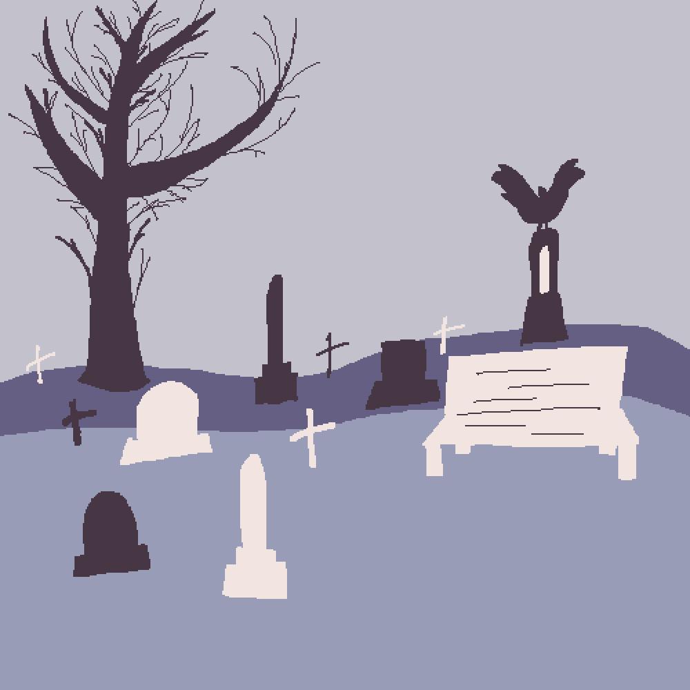 cemetery || palette challenge