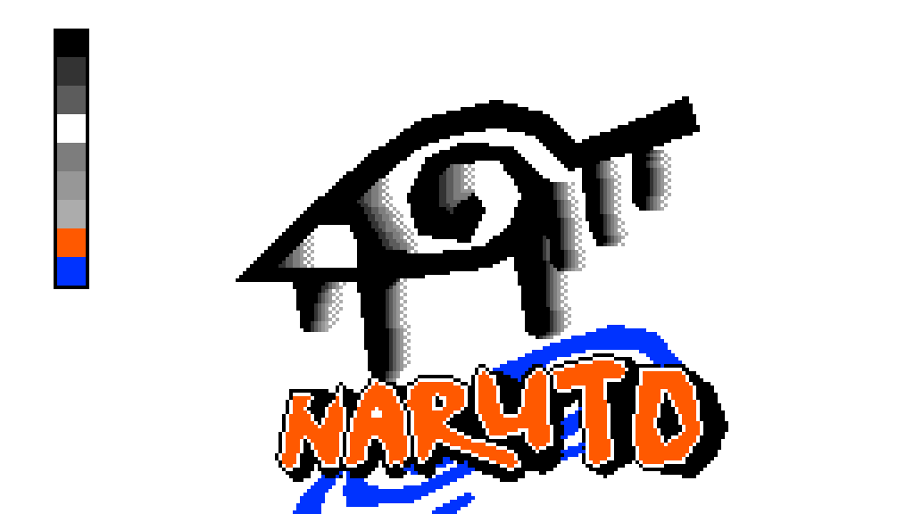 Pixilart Naruto Konoha Hidden Leaf Village Symbol By Spritepixel2091