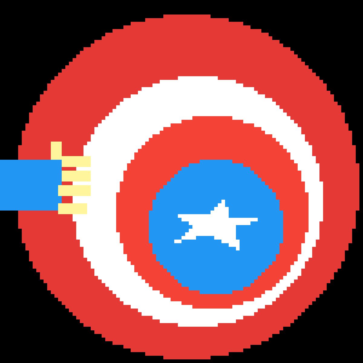 Cap's shield remake by VortexGaming5